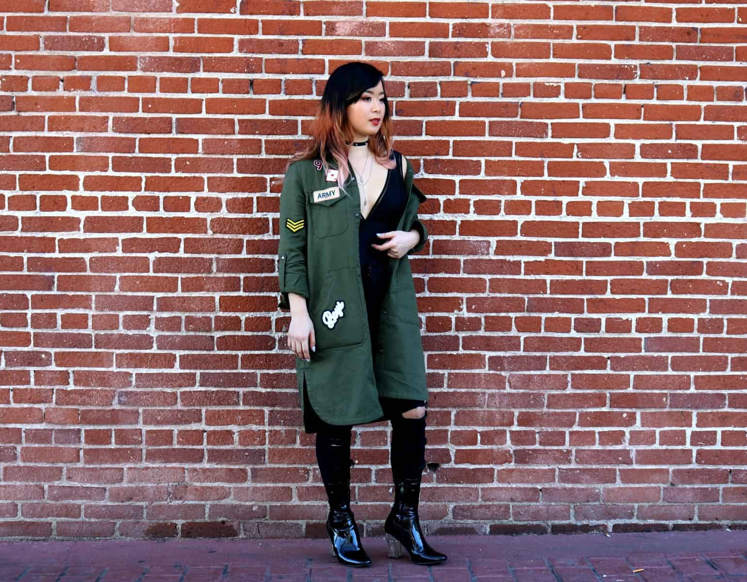 Edgy Punk Veteran: Styling Long Coats
