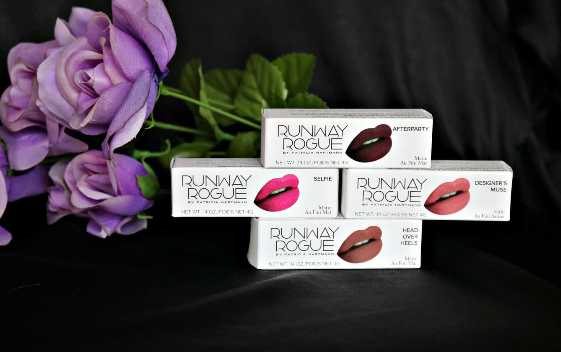 Lipsticks from Runway Rogue by Patricia Hartmann
